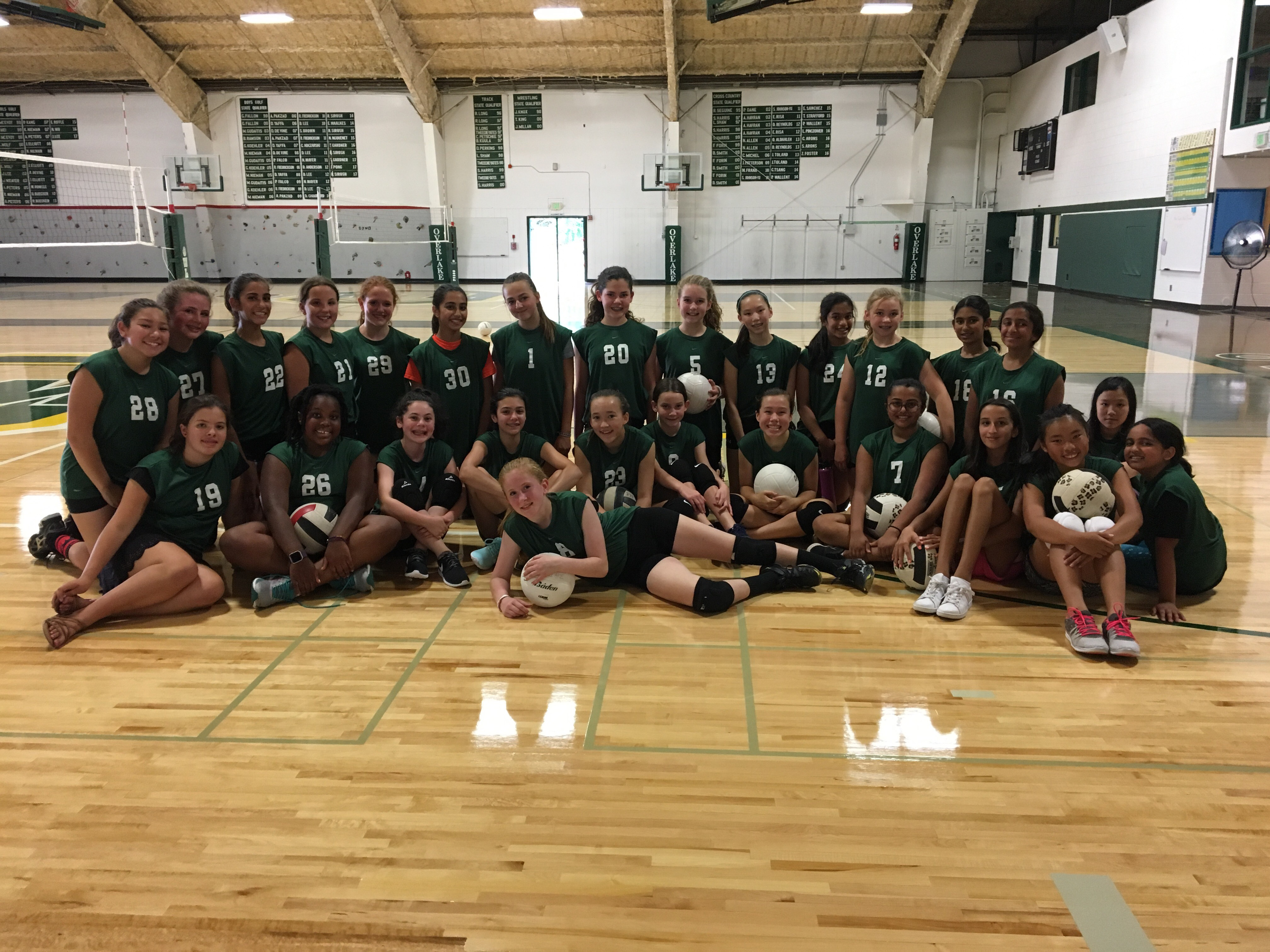 MS Girls Volleyball