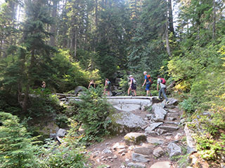 Hiking the Cascades