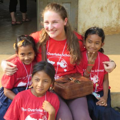 Students in Overlake Cambodia