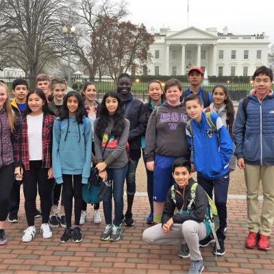 Students in Washington DC