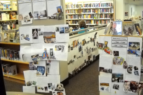 Contest entries posted in library
