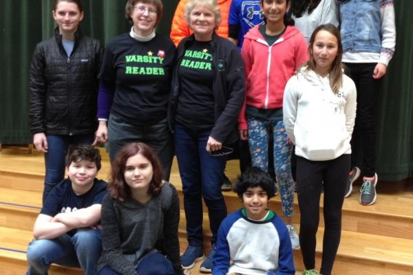 Students on Battle of the Books teams