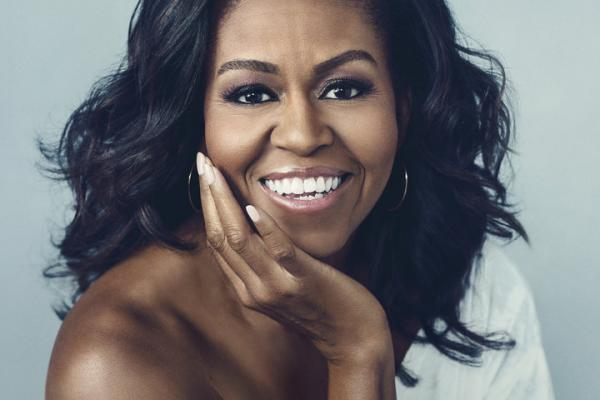 Cover of Michelle Obama's biography 'Becoming'
