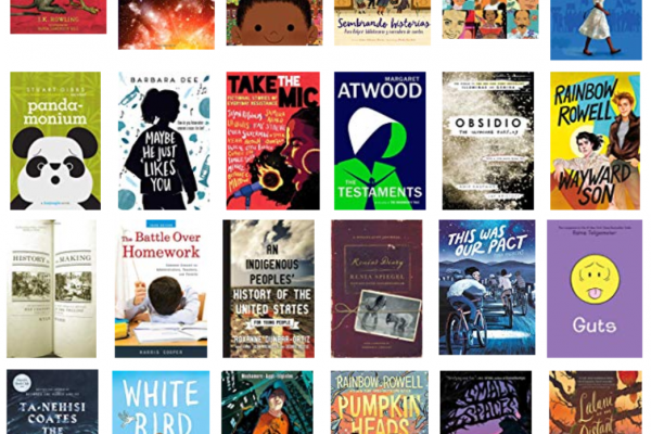 Covers of new books