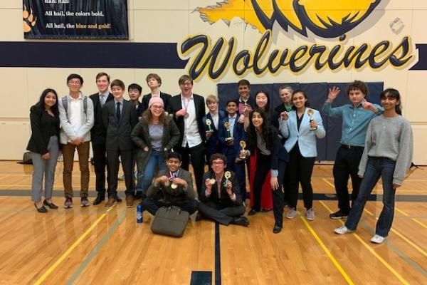 Overlake debate team success
